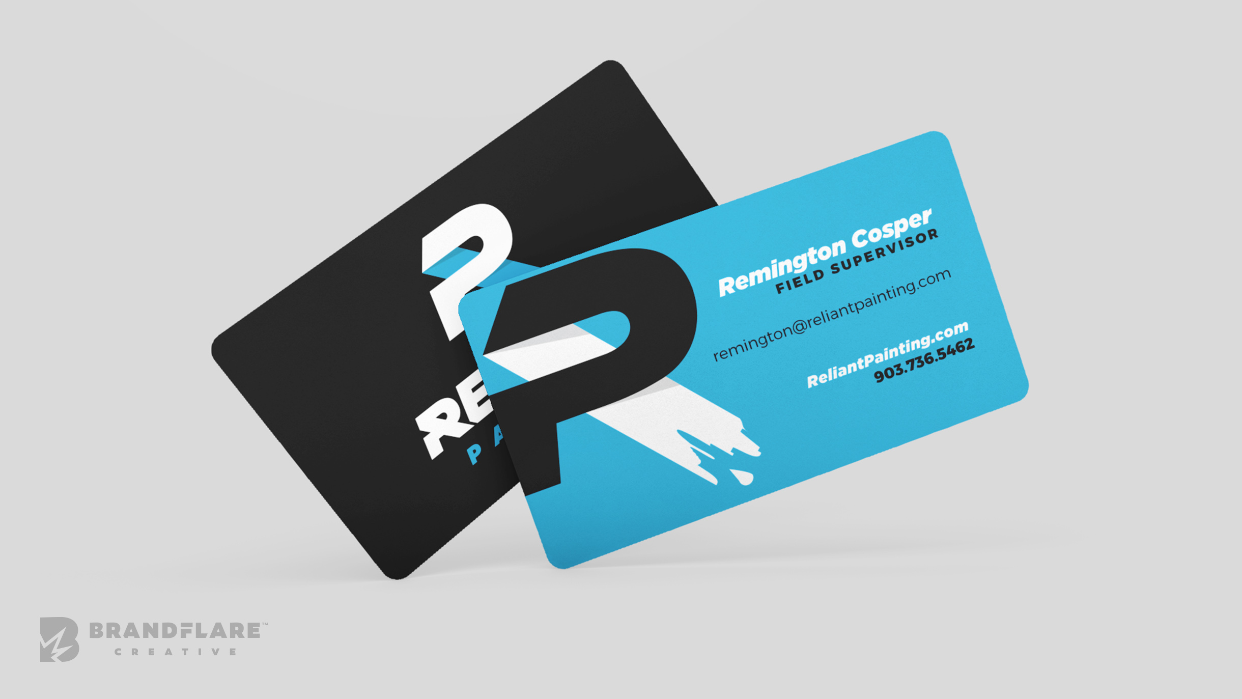 Reliant Painting Business Card Design