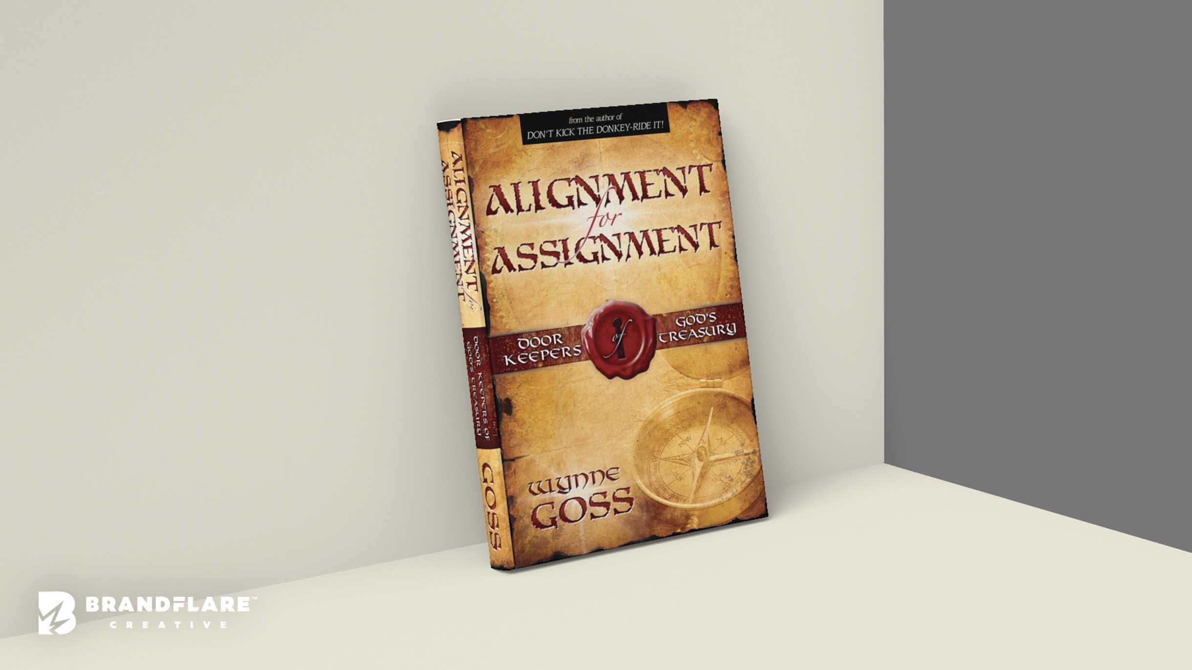 Wynne Goss Book Design - Book Cover Graphic Design - BrandFlare Creative
